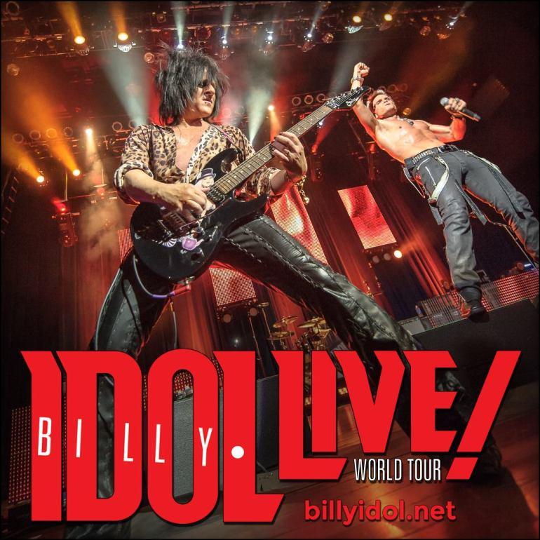 Billy Idol - Source Facebook