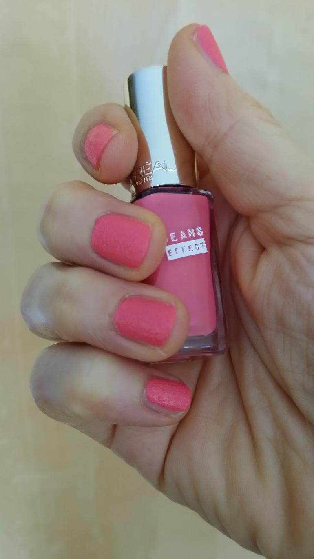 #Loréal #Jeanseffect #colorriche couleur Bermuda Rose L'Oréal Paris France