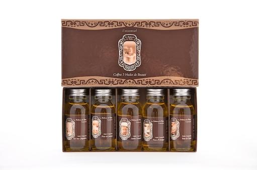 coffret 5 huiles La Sultane de Saba