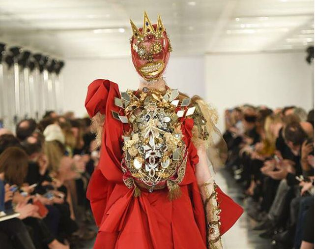 John Galliano pour Maison Martin Margiela Source Twitter