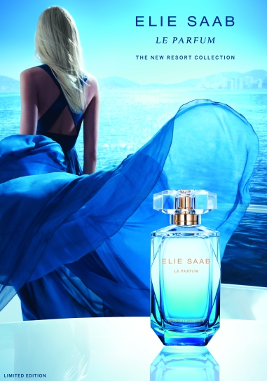 Elie Saab Le Parfum Resort Collection 2015 #BlueEscapade