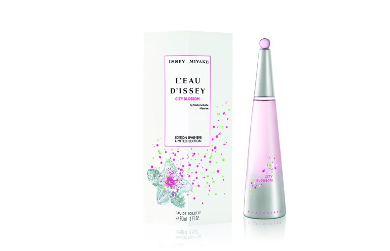 Issey Miyake x Mademoiselle Maurice L'Eau d'Issey #CITYBLOSSOM