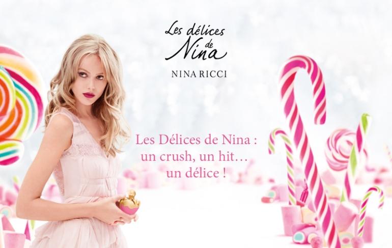 Les Délices de Nina de Nina Ricci - Source mail Nina Ricci