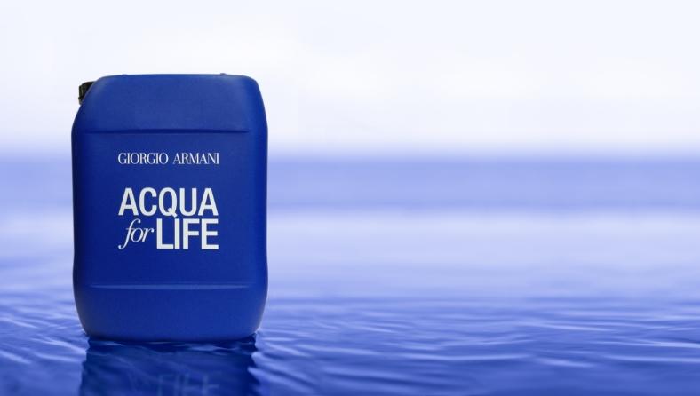 Acqua for Life de Giorgio Armani #acquaforlife #1dayon10liters #helpgivewater