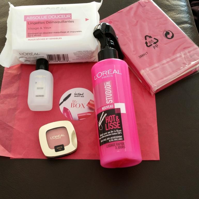 L'Oréal Box de mars