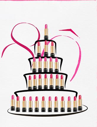 Rouges à lèvres Lancôme - 80 ans - Source Newsletter Lancôme
