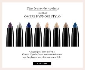 Ombres Hypnôse Stylos Lancôme - Source newsletter