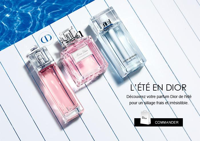 Eaux Fraîches de l'été de Dior - Source Newsletter