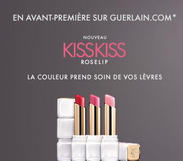 KissKiss Roselip de Guerlain - Source Newsletter Guerlain