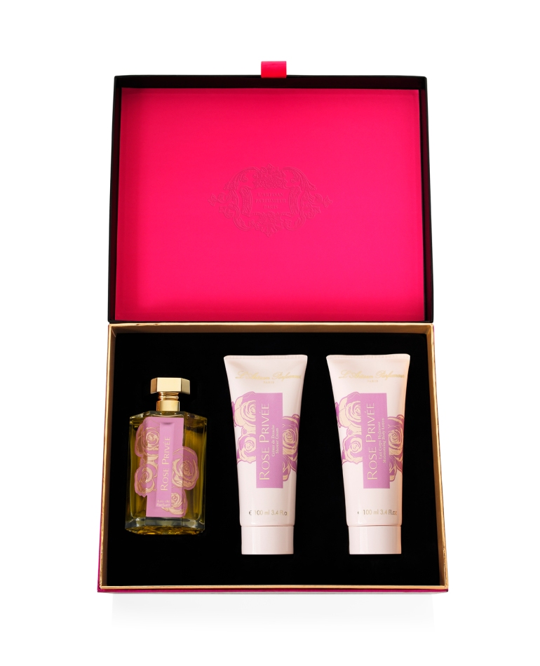 LArtisan Parfumeur - Coffret Noel Rose Privee