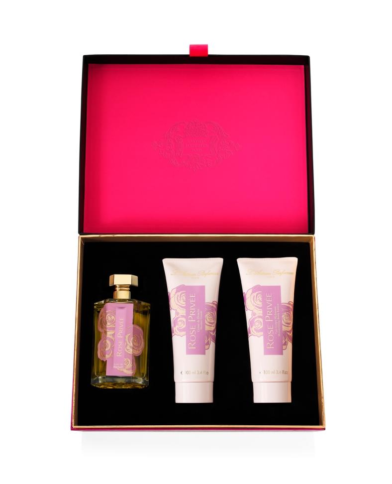 LArtisan Parfumeur - Coffret Noel Rose Privee