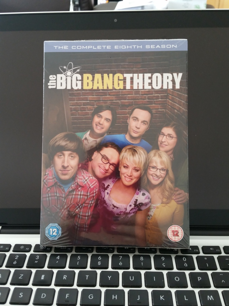 The Big Bang Theory Saison 8 #bazinga