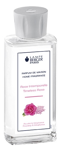 rose intemporelle Lampe Berger
