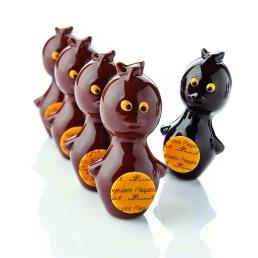 5 mini piou Chocolats Pâques Pascal Caffet