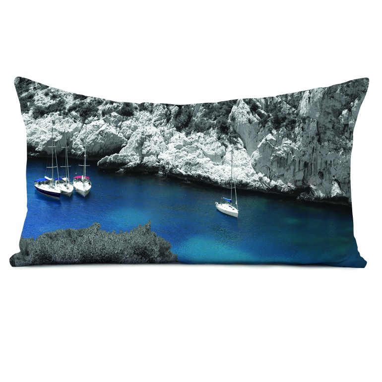 Coussin Calanques by Matao