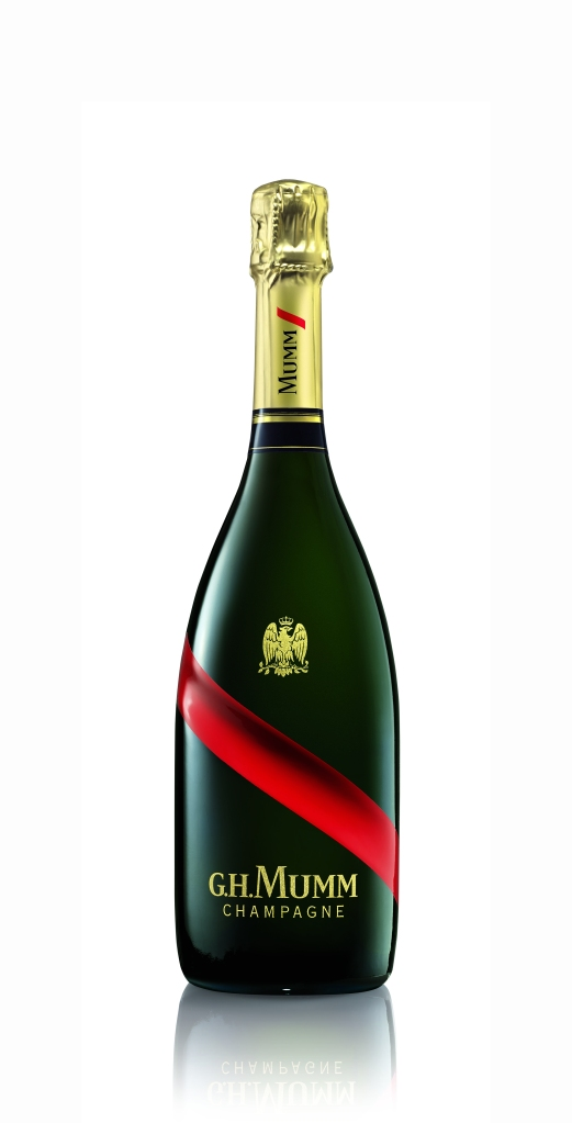 Champagne Mumm Grand Cordon - Source Dossier de Presse