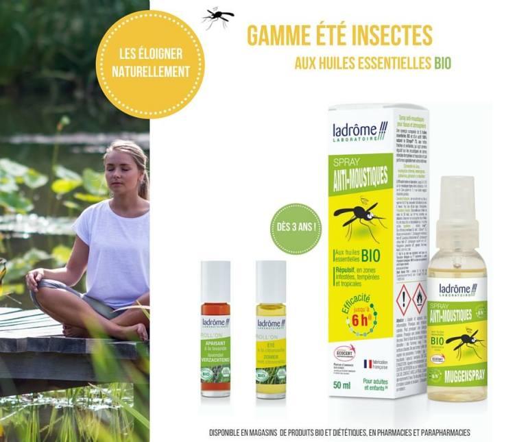 Ladrôme gamme anti-moustiques