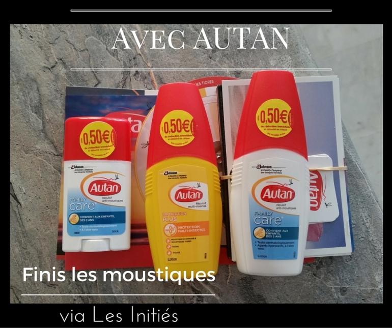 Répulsifs anti-moustiques Autan