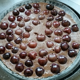 Clafoutis Chocolat