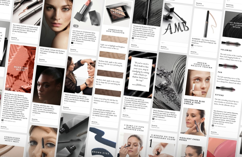 Burberry Cat Lashes Mascara x Pinterest x Sephora