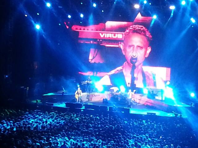 Depeche Mode Nimes 2013