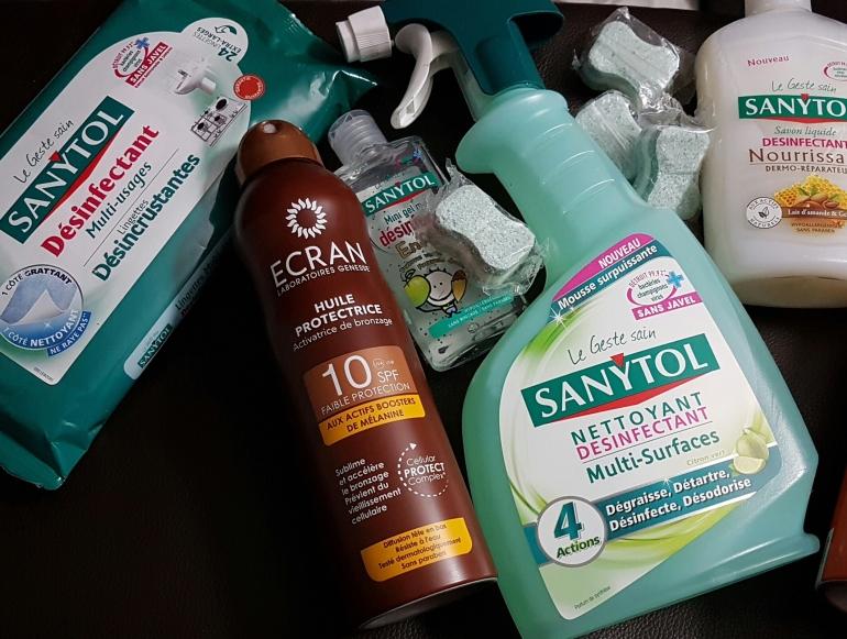 Sanytol pour les mains