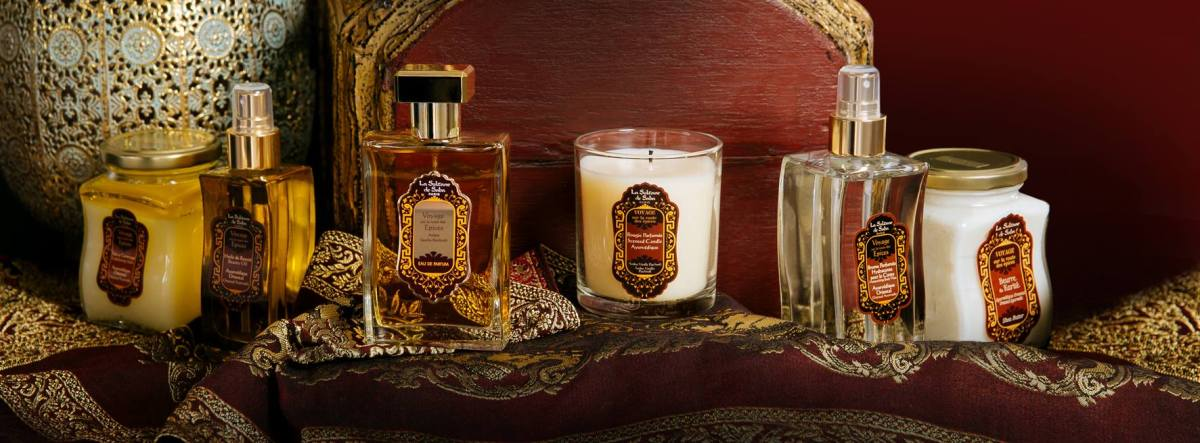 Bougies parfumées La Sultane de Saba