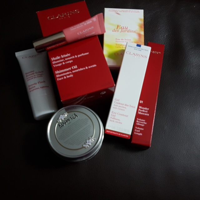 Box Clarins Party Time