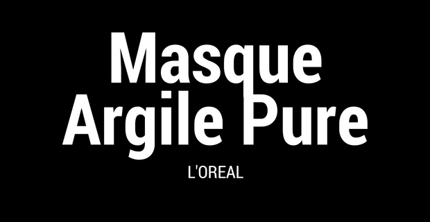 Masque Argile Pure L'Oréal