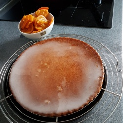 Gâteau Clémentines confites