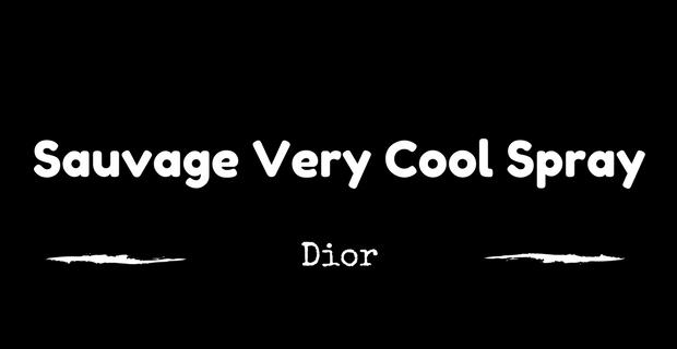 Sauvage Very Cool Spray Dior