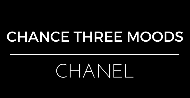 Chance Three Moods Chanel