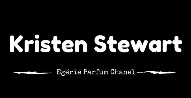 Kristen Stewart, égérie parfum Chanel