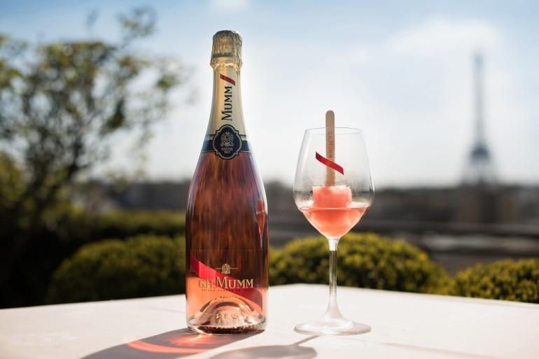 Mumm Rosé Icetails