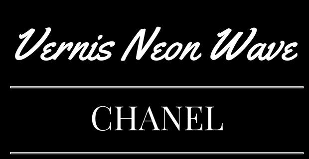 Vernis Neon Wave de Chanel