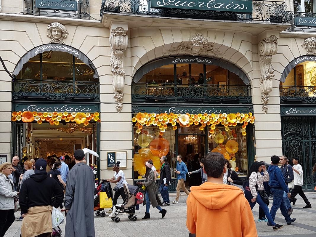 Boutique Guerlain Champs Elysées