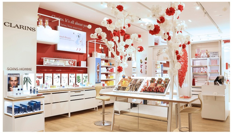 Open Spa Clarins Printemps Beauté Haussmann