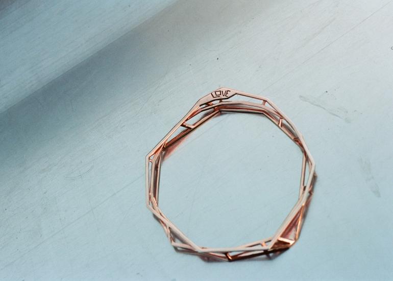 Bracelet Polygones Castorette Paris