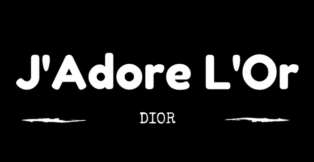 J'Adore L'Or de Dior