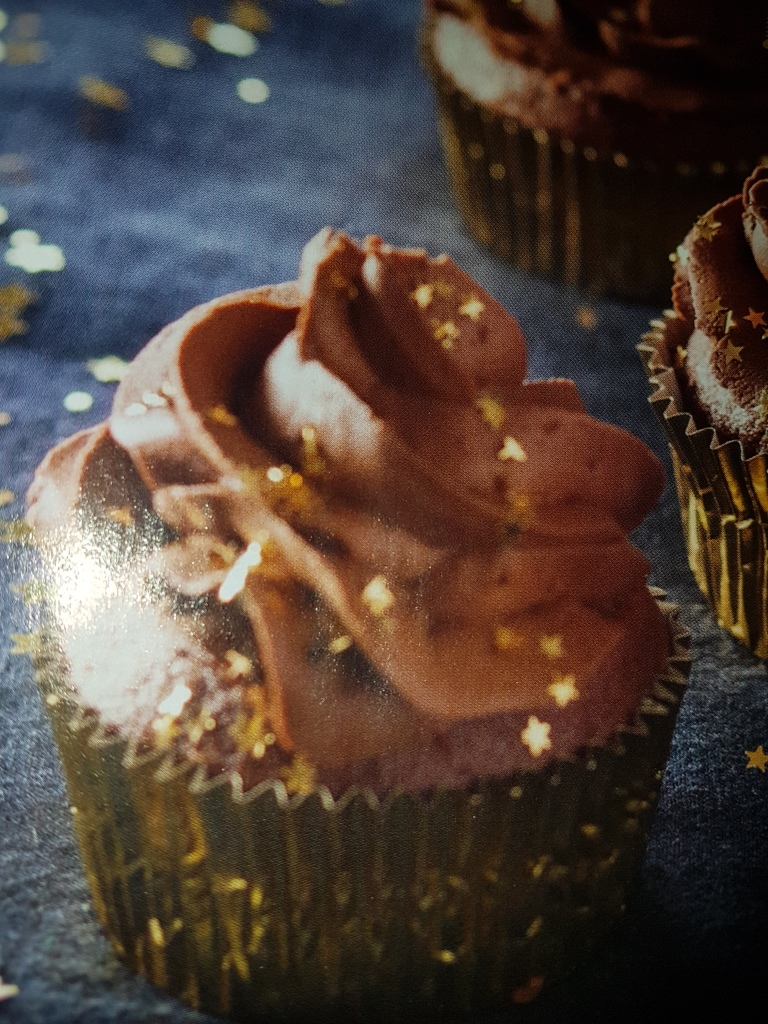 Cupcakes en ganache au chocolat