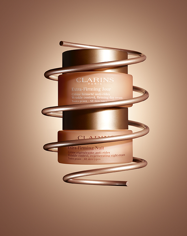 Extra Firming Crèmes Jour & Nuit ©Clarins