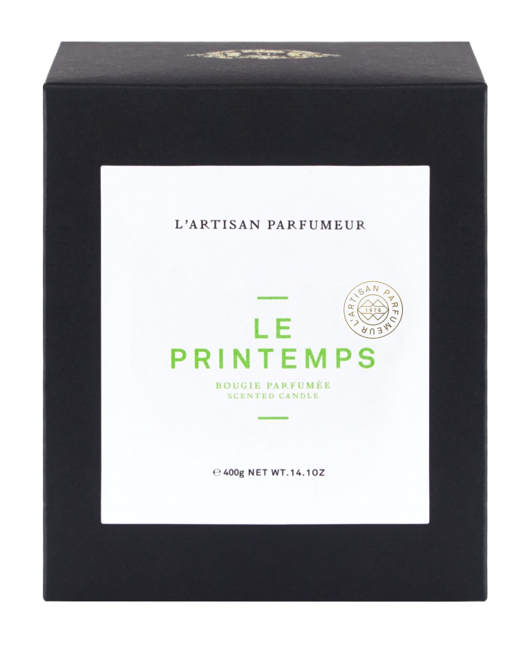 Bougies 4 saisons L'Artisan Parfumeur - Le Printemps