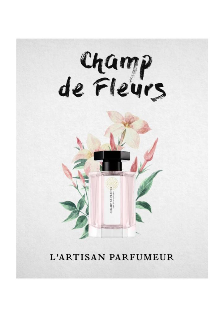 Champ de fleurs de L'Artisan Parfumeur