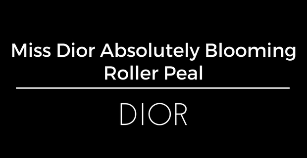 Miss Dior Absolutely Blooming Roller Pearl de Dior