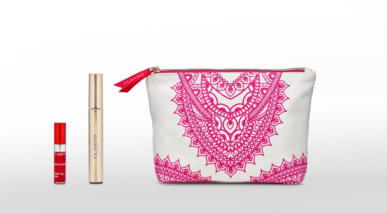Trousse Make-up Clarins by Fanny Maurer