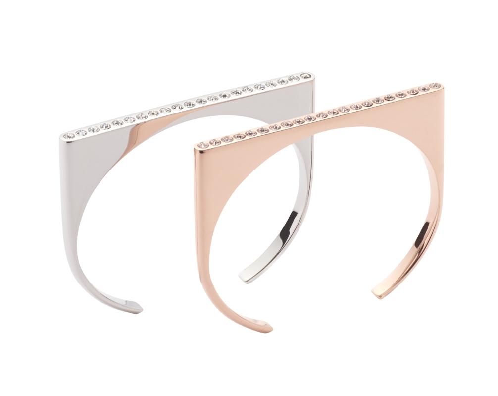 Bracelet Silver et Or Rose Energetix © Energetix Bingen
