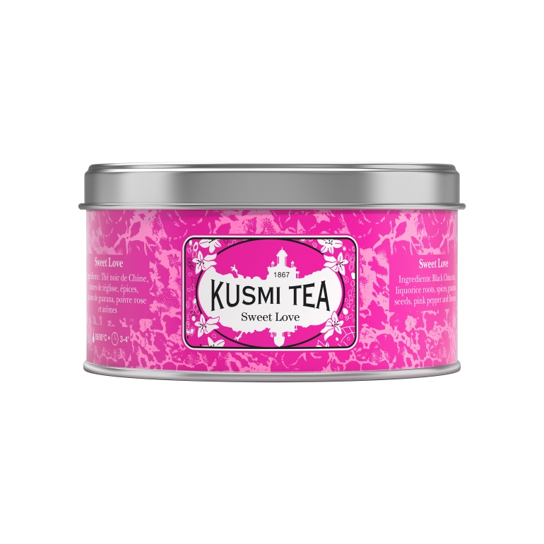 Kusmi Tea x Octobre Rose