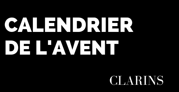 Calendrier Avent - Clarins