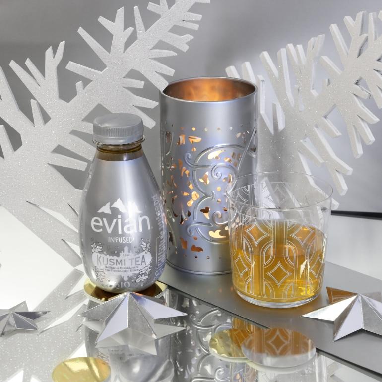 Evian Infused x Kusmi Noël 2018