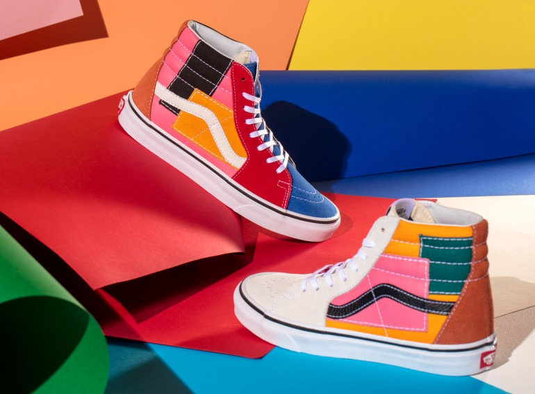 Sk8-Hi Patchwork Collection Vans